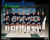 2013 Baseball JV TRHS 16x20 Team