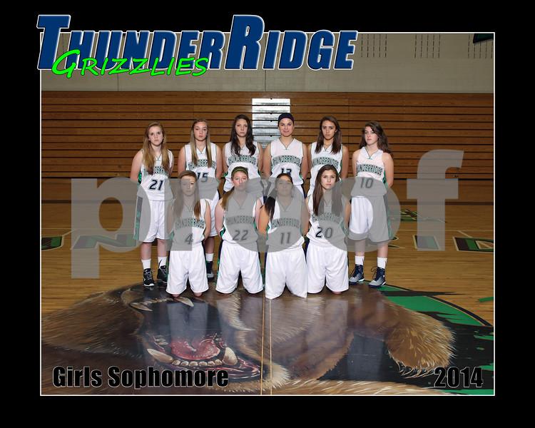 2014 Basket Girls TRHS Team-0007