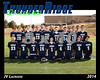 2014 TRHS JV Lacrosse 16x20 Team Photo