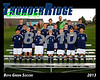 2013 TRHS Soccer Boys Green 16x20 Team Photo
