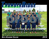 2014 TRHS Soccer Boys Academy 16x20 Team Photo
