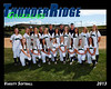 2013 TRHS Softball Varsity 16x20 Team Photo