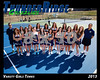2013 Tennis Girls TRHS Varsity 16x20 Team