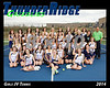2014 TRHS Girls JV Tennis 16x20 Team Photo