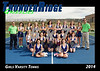 2014 TRHS Varsity Tennis 5x7 Team Photo