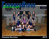 2014 TRHS Freshman Volleyball 16x20 Team Photo