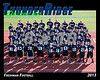 2013 Football TRHS Freshman 16x20 Team Photo