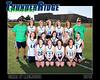2016 Lacrosse Girls JV Team 16x20