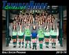 2013 Soccer Girls TRHS Program 16x20 Team