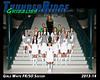 2013 Soccer Girls TRHS White 16x20 Team