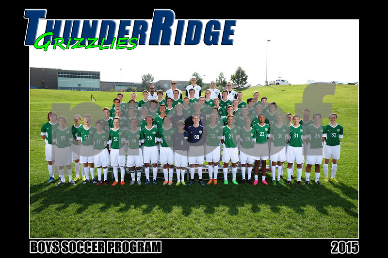 2015 Soccer Boys PROGRAM Team