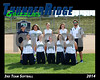 2014 TRHS 3rd Softball 16x20 Team Photo