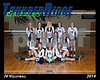 2014 TRHS JV Volleyball 16x20 Team Photo